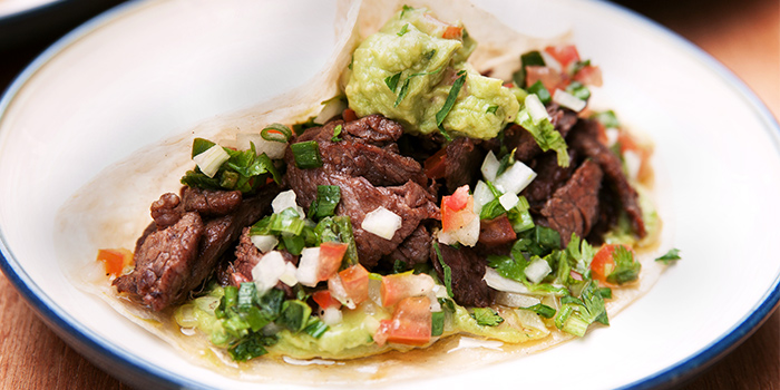 Steak Taco from Sarnies Cafe in Raffles Place, Singapore