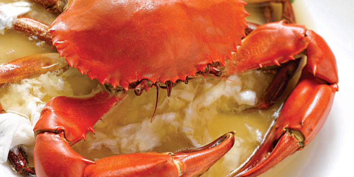 Steamed Crab in Huadiao Wine, Ye Shanghai, Admiralty, Hong Kong