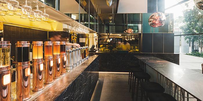 Interior of Alchemist Beer Lab at South Beach Avenue in Bugis, Singapore