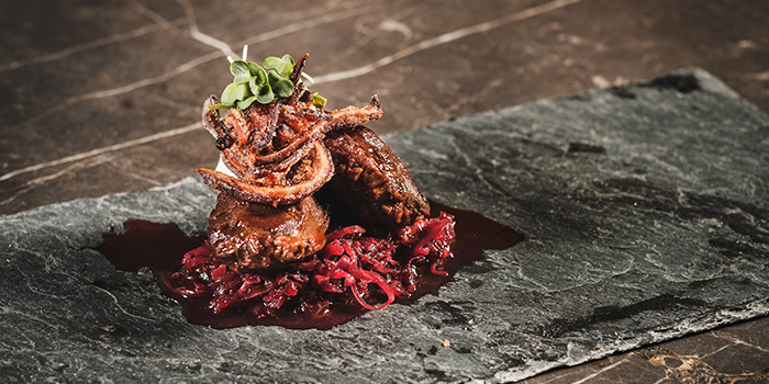 Slow Cooked Pork Cheeks from Alchemist Beer Lab at South Beach Avenue in Bugis, Singapore