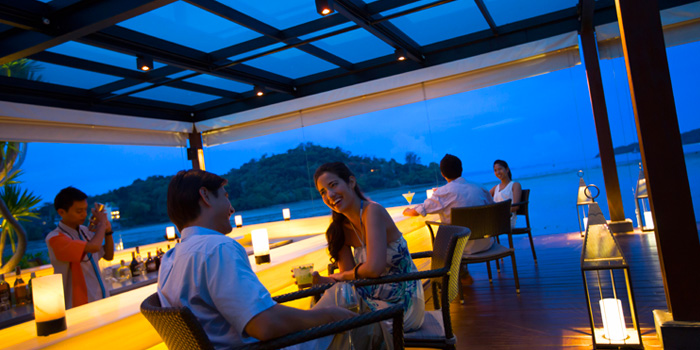 Ambience from Patio Al Fresco at Phuket Panwa Beachfront Resort, Phuket