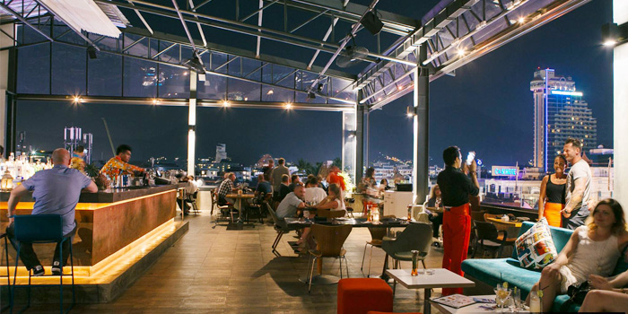 Ambience of HIGHER in Patong Kathu Phuket, Thailand