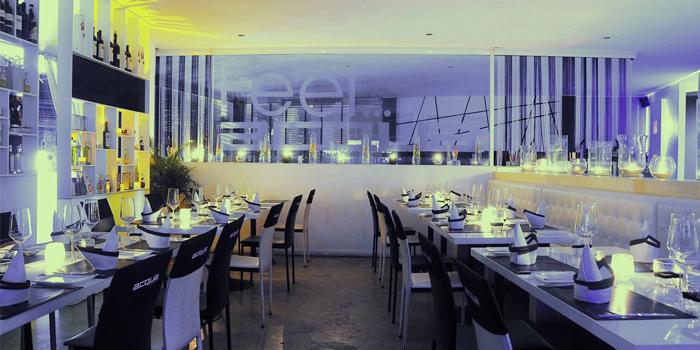 Ambience of Acqua Restaurant in Patong-Kathu, Phuket, Thailand
