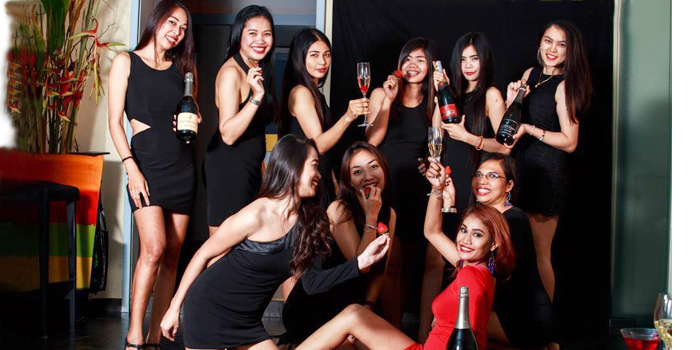 Angels of The 9th Floor restaurant & bar in Sky Inn Condotel Patong Kathu Phuket, Thailand