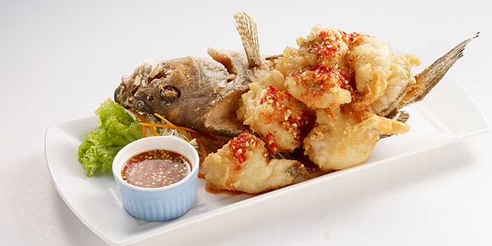Fried Fish from Bangkok Jam (Bugis Junction) in Bugis, Singapore