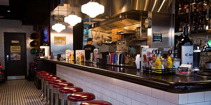 Bar Area, The Diner, Central, Hong Kong