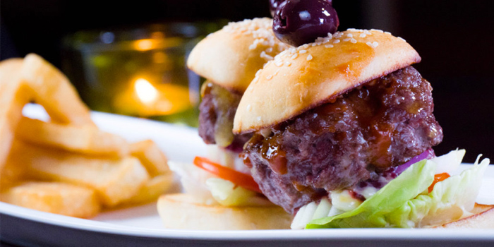 Beef Slider (2 mini burgers) from HIGHER in Patong Kathu Phuket, Thailand