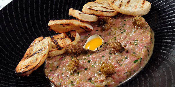 Beef Tartare, Watermark, Central, Hong Kong