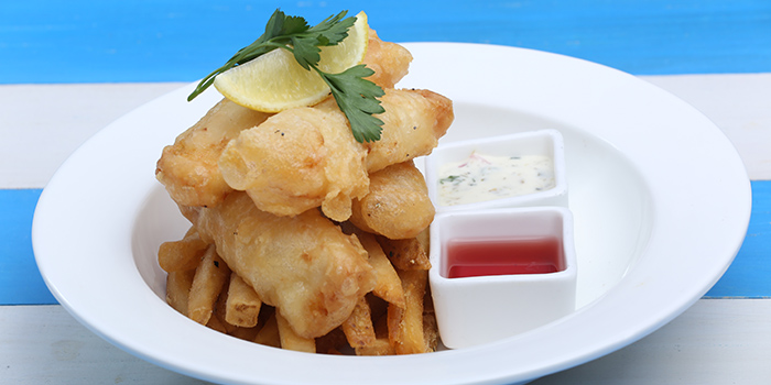 Cod N Chips, Peak Cafe Bar Olympian City, Tai Kok Tsui, Hong Kong