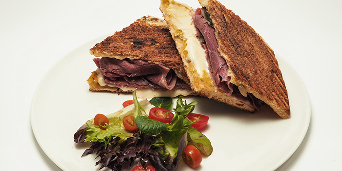 Beef Melt Toastie from Compound Coffee Co. in Eunos, Singapore