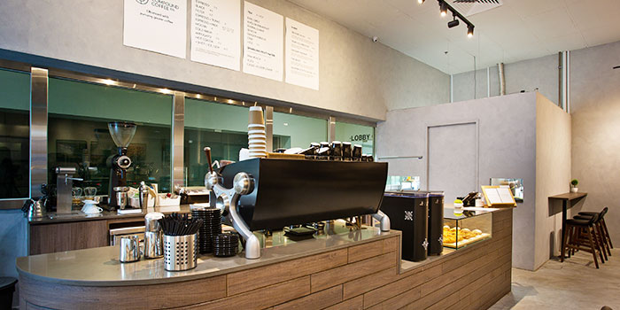 Coffee Counter of Compound Coffee Co. in Eunos, Singapore
