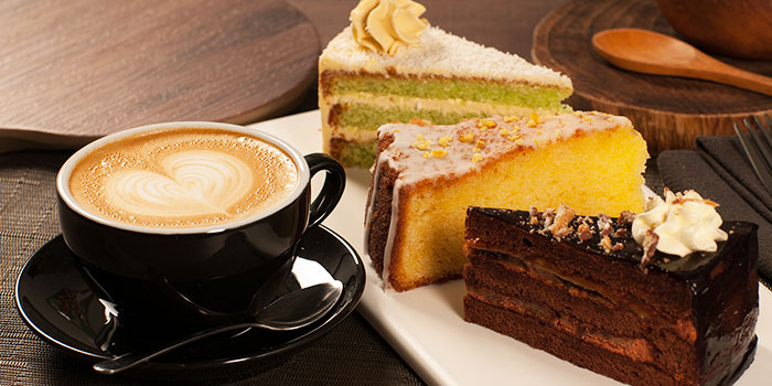 Desserts from Compound Coffee Co. in Eunos, Singapore