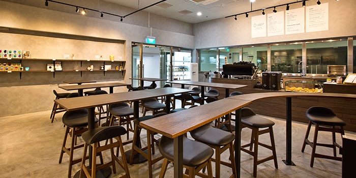 Dining Area of Compound Coffee Co. in Eunos, Singapore