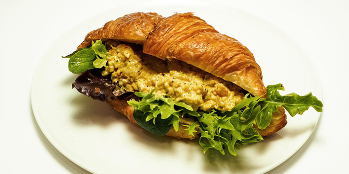 Smoked Salmon Croissant from Compound Coffee Co. in Eunos, Singapore