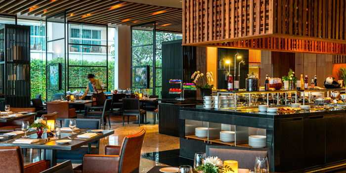 Dining Area from Mosaic at Phuket Panwa Beachfront Resort, Phuket