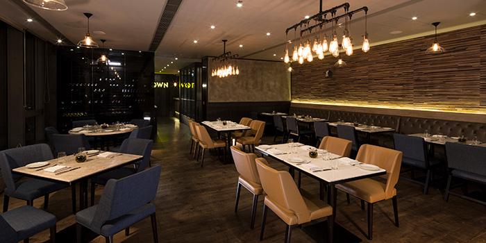 Dining Area, Town by Bryan Nagao, Causeway Bay, Hong Kong