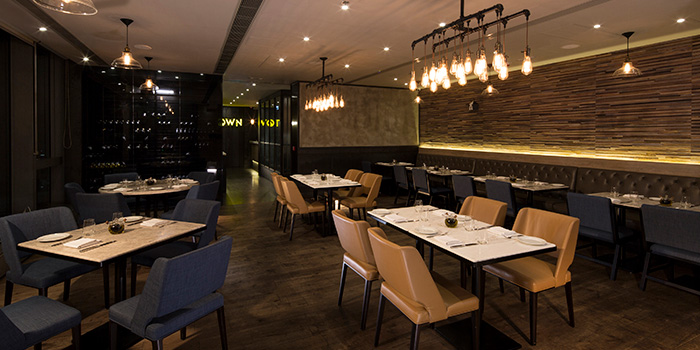 Dining Area, Town by Bryan Nagao, Causeway Bay, Hong Kong