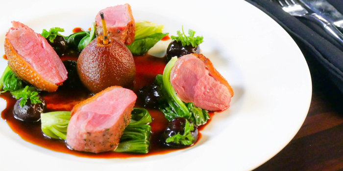 Duck Breast from HIGHER in Patong Kathu Phuket, Thailand
