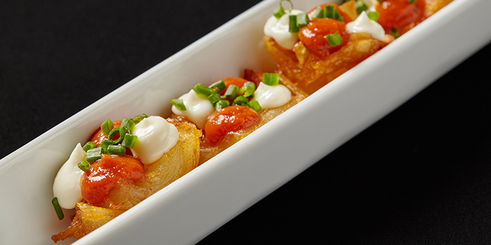 Patatas Bravas from FOC Restaurant on Hong Kong Street in Boat Quay, Singapore