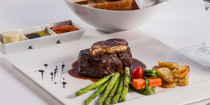 Grains Fed 240 Days Beef Tenderloin from Damaurizio Bar and Ristorante in Kathu Phuket, Thailand