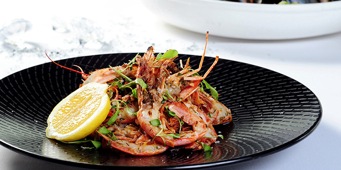 Grilled Crevettes Roses, Watermark, Central, Hong Kong