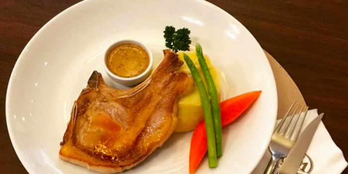 Grilled Pork Chops from Cafe 101 at Jungceylon, Phuket