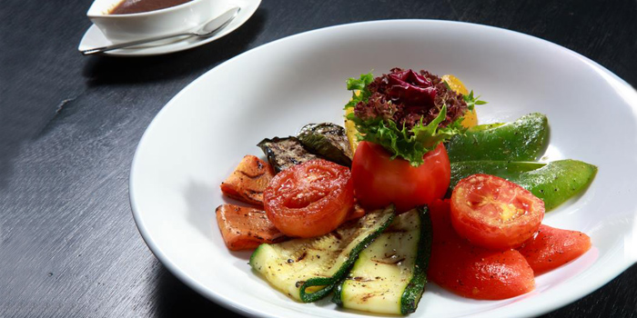 Grilled Vegetable from The 9th Floor restaurant & bar in Sky Inn Condotel Patong Kathu Phuket, Thailand