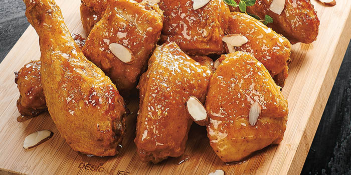 Honey Curry Chicken, Goobne Chicken, Central, Hong Kong