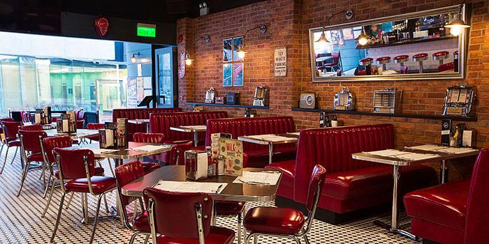 Interior, The Diner, Central, Hong Kong