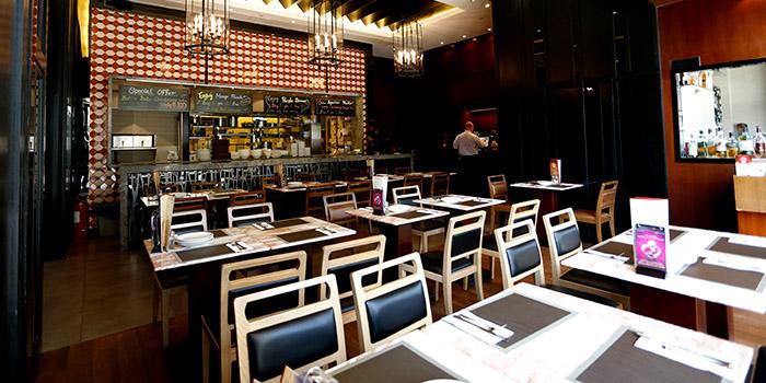 Interior, Peak Cafe Bar Olympian City, Tai Kok Tsui, Hong Kong