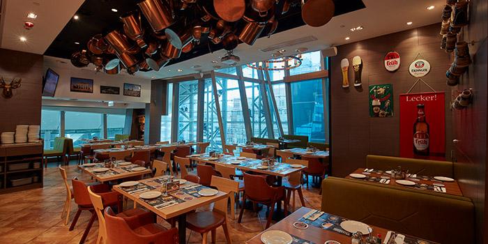 Interior, Beerliner Langham Place, Mong Kok, Hong Kong