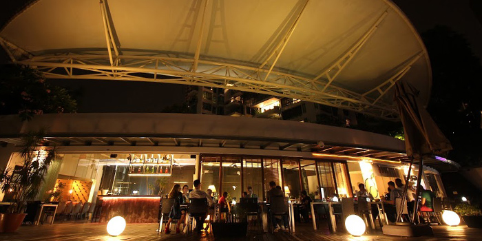 Exterior from Limoncello in Robertson Quay, Singapore