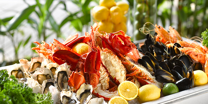 Sustainable Seafood Buffet from Oasis Restaurant in Grand Hyatt Singapore in Orchard, Singapore