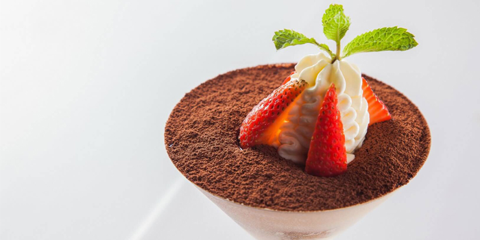 Original Tiramisu with Rum from Damaurizio Bar and Ristorante in Kathu Phuket, Thailand