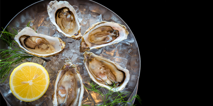 Oyster from Kata Rocks Oceanfront Restaurant in Kok-Tanode Road Karon Muang Phuket, Thailand