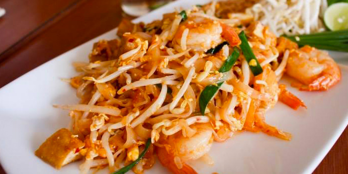 Pad Thai Khung from The Wok on Patong Road, Phuket