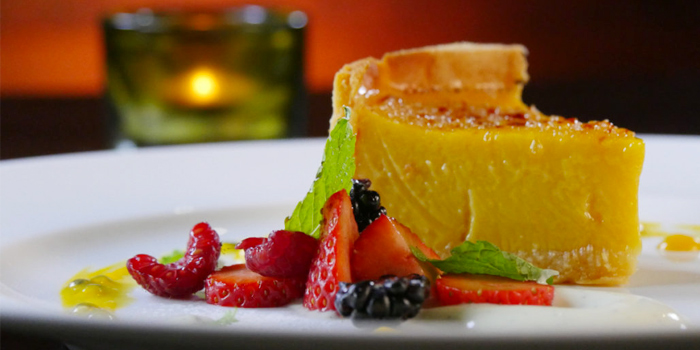 Passionfruit Tart from HIGHER in Patong Kathu Phuket, Thailand