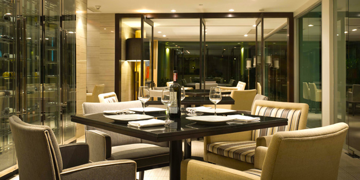 Private Area from Patio Al Fresco at Phuket Panwa Beachfront Resort, Phuket
