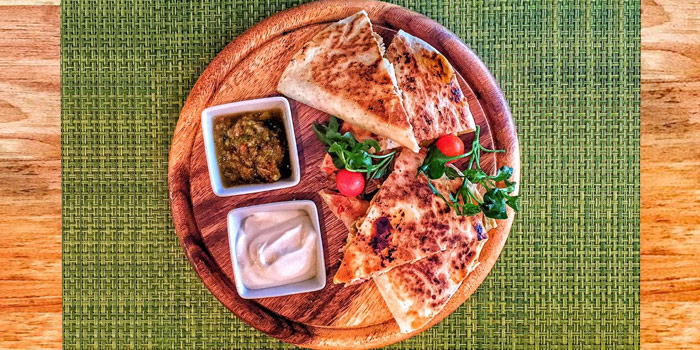 Quesadilla from Cariocas Bistro & Lounge in Phuket Town, Phuket, Thailand