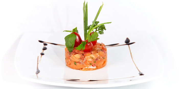 Salmon Tartare from Black Cat Bar & Restaurant in Thalang Phuket, Thailand