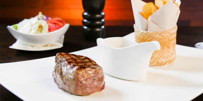 Steak Black Angus from HIGHER in Patong Kathu Phuket, Thailand