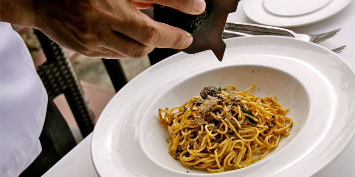 Taglierini with Truffle from Damaurizio Bar and Ristorante in Kathu Phuket, Thailand