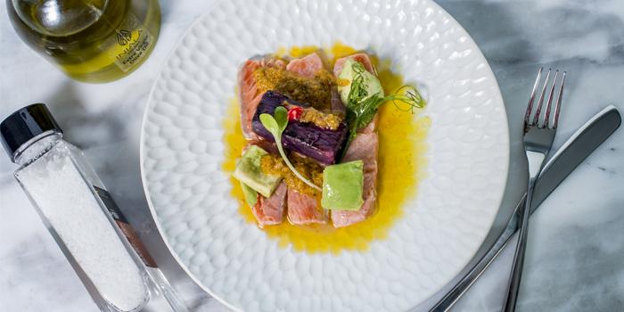 Tasmanian Salmon Tiradito from Iniala Kitchen & Bar in Cherngtalay, Phuket, Thailand