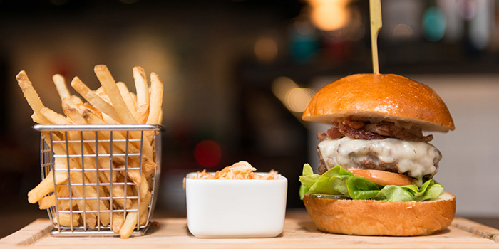 The Dime Burger, The Diner, Central, Hong Kong