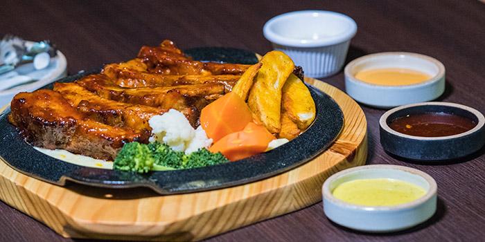 BBQ Pork RIb, Goobne Chicken, Central, Hong Kong