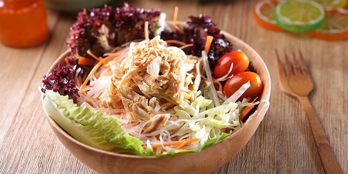 Chicken Salad, Viet Lime Café & Restaurant, Tseung Kwan O, Hong Kong