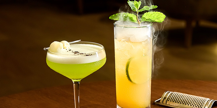 Jaded Silk Chinatown Rumble Cocktails from Crossroads Bar in Swissotel Merchant Court in Clarke Quay, Singapore