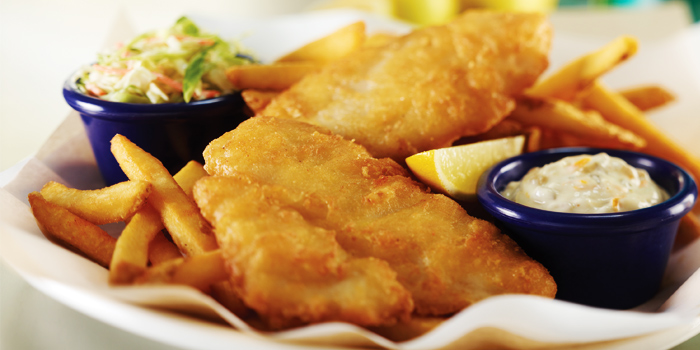 Fish And Chips from Hard Rock Cafe Bangkok in Siam Square Soi 11, Bangkok