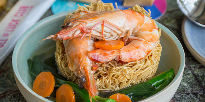 King Prawn Crispy Noodles from Full of Luck Club in Holland Village, Singapore