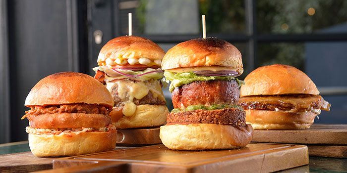 Burger, The Fat Pig by Tom Aikens, Causeway Bay, Hong Kong